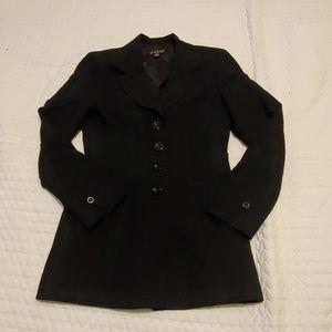 Babe Fited Black Jacket/Blazer